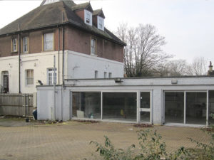 Building to be demolished in croydon