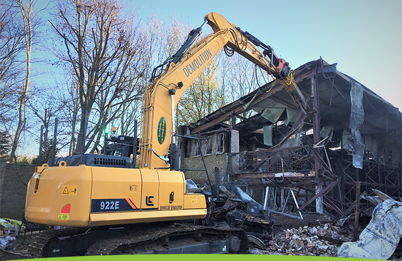 Rabbit Demolition project in Lordswood, Kent