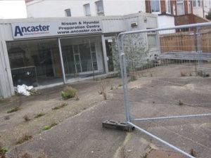 Garage in croydon for demolition