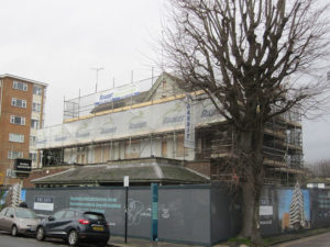Site for demolition at Sussex County Cricket Ground
