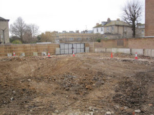 Site clearance at Sussex County Cricket ground demolition project