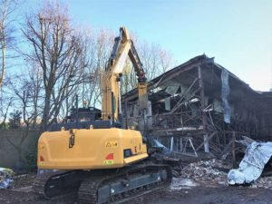 Emergency demolition work carried out by Rabbit Demolition