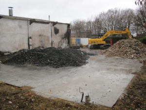 Site Clearance work by Rabbit Demolition in Lordswood, Kent