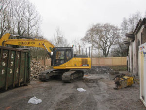 Demolition waste removal in Lordswood, Kent