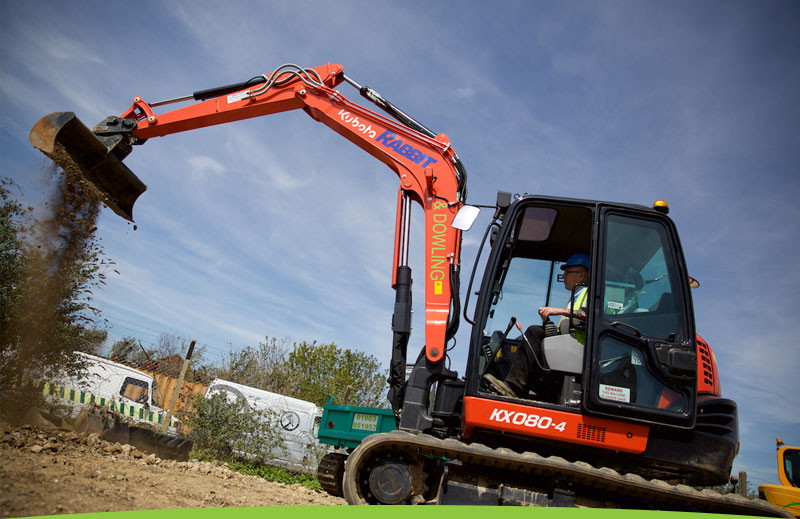 Rabbit and Dowling Plant Hire example