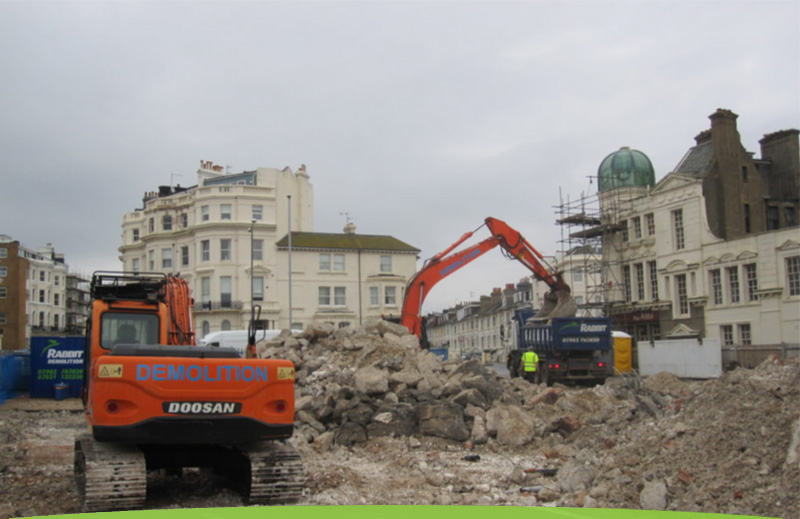 Demolition services from Rabbit Demolition