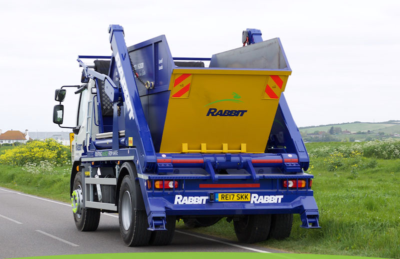 Rabbit skip hire and waste removal